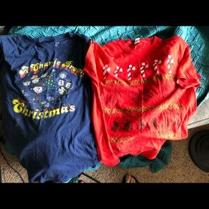 Bundle of Christmas t-shirts